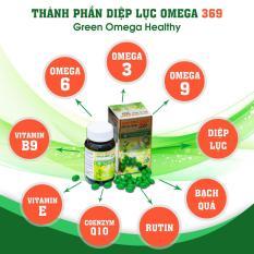 Diệp lục Omega 369- giúp tăng cường thị lực, tăng cường trí nhớ