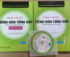 Tiếng hàn tổng hợp tập 1- bộ 2 quyển ( Tặng Kèm CD)