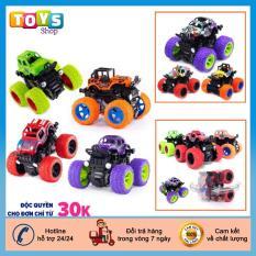 Đồ chơi trẻ em, đồ chơi xe ô tô, xe địa hình đồ chơi quán tính, bánh đà cho bé nhiều màu sắc, chất liệu nhựa an toàn cho bé