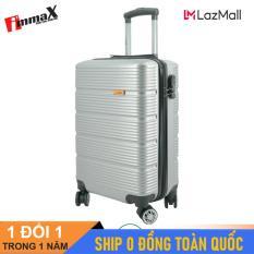 [ MIỄN PHÍ SHIP] Vali nhựa size ký gửi hành lý 24inch immaX X13/ Vali du lịch size 24inch ký gửi hành lý