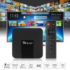 Android Tivibox TX3 Mini RAM 2GB, ROM 16GB, Android 7.1.2 – Hỗ Trợ Xem K+