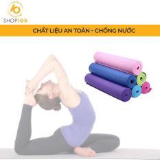 Thảm Tập Yoga/Gym Memorex Mềm Mại Chống Trơn Trượt