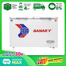 [ SƯU TẬP VOUCHER 300K] TRẢ GÓP 0% – Tủ Đông Mát Sanaky VH-225W2 (165 Lít) – Bảo hành 12 tháng