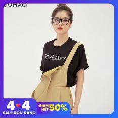 Quần short yếm nữ teen tôn dáng đẹp thời trang GUMAC mẫu mới QB377