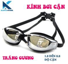 Kính bơi cận 1.0 đến 8.0 Hàn Quốc Phoenix cho người cận thị,chống tia UV – Kante Store