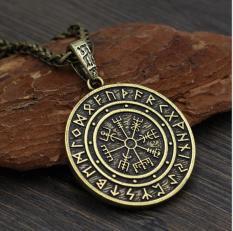 Vòng cổ Money Amulet Thái Lan – Mặt vàng đặc, dây kim loại