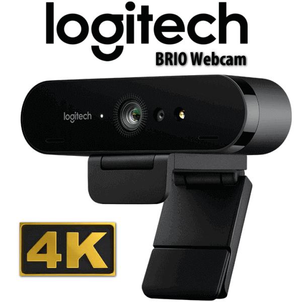 Webcam Logitech Brio Ultra Pro 4K với HDR, hỗ trợ Windows Hello – BH Chính Hãng 36 Tháng