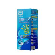Nước ngâm kính áp tròng đa năng Complete Easy Rub 360ml