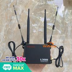 Bộ Phát Wifi 4G APTEK L300 băng thông rộng với khe cắm thẻ SIM 4G/LTE