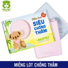 Miếng lót sơ sinh – Miếng lót chống thấm cho bé Mipbi siêu êm, thoáng mát, kháng khuẩn cao làm từ sợi tre và cao su non cao cấp mùi dễ chịu an toàn cho sức khỏe bé