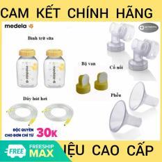 [Đầy Đủ] Nguyên Bộ Phụ Kiện Máy Hút Sữa Medela Pump (New 100%)