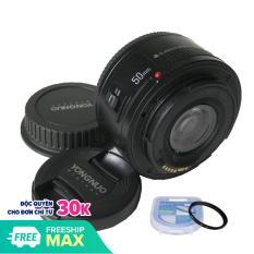 Ống kính Yongnuo YN50mm F1.8 dành cho Canon tặng kèm Filter 52mm