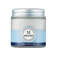 Sáp vuốt tóc cao cấp BRITISH M Urban Matte Clay – 100g