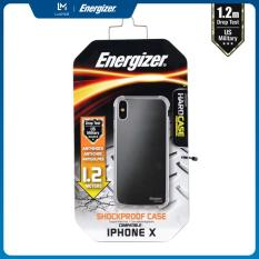 ỐP LƯNG TRONG SUỐT ENERGIZER HC CHỐNG SỐC 1.2M CHO IPHONE X – ENCMA12IP8TR