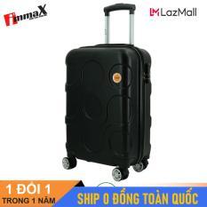 [ MIỄN PHÍ SHIP] Vali nhựa size ký gửi hành lý 24inch immaX X12/ Vali du lịch size 24inch ký gửi hành lý