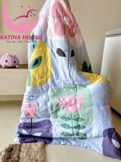 Chăn mền cho bé cực mềm mát ❤1mx1m2❤ vải tencel 100% – họa tiết vô cùng sắc nét đáng yêu
