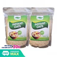 2kg yến mạch instant oats cán vỡ giúp giảm cân, bé ăn dặm SuSuTo Shop