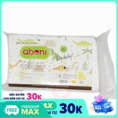 Khăn khô đa năng / khăn giấy ướt Aboni vệ sinh an toàn 100% cotton 300 tờ, khăn ướt