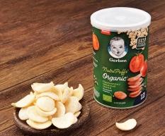 Bánh ăn dặm Gerber Organic kích thích vị giác cho bé