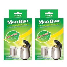 Combo 02 hộp chất làm sạch bình đun nước Mao Bao (25g x 2 gói) (C)