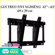 Kệ tivi treo tường nghiêng từ 42′ đến 63′ tiện dụng