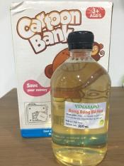 500ml Dung dịch thổi bong bóng xà phòng làm từ quả bồ hòn (Soapnut bubble solution for Kids)