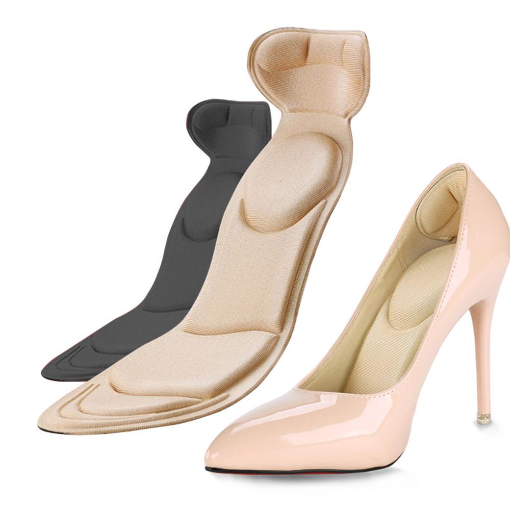 Lót giày nữ chống trầy gót chân, cặp lót giày nữ cực êm chân dùng giảm size giày bị rộng...