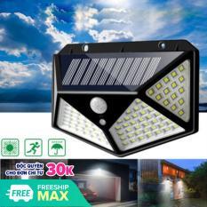 Đèn Năng Lượng Mặt Trời 100 LED, Đèn Tường Cảm Biến Hồng Ngoại Chuyển Động 3 Chế Độ Bật Tắt Tự Độ – Chống Nước Chuẩn IP65, Đèn Trang Trí Sân Vườn Không Dùng Điện