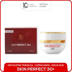 Kem dưỡng trắng da mặt ngừa mụn chuyên sâu KimKul Skin Perfect 30+ 30G – Giúp da trắng sáng, mịn màng, và trẻ hóa làn da