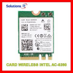 Card WIFI Intel chuẩn AC7260 AC8260 AC9260 AX200 khe M2 có Bluetooth – Card WIFI Laptop Intel 2 băng tần