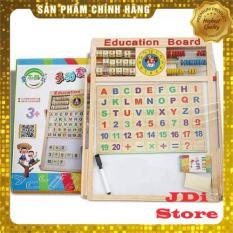 bảng học nam châm 2 mặt cho bé( giúp bé học chữ học số)