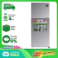 [ SƯU TẬP VOUCHER 300K] TRẢ GÓP 0% – Tủ lạnh Sharp SJ-X251E-SL 241 lít Inverter – Hàng mới 100% nguyên đai nguyên kiện – Bảo hành chính hãng 12 tháng