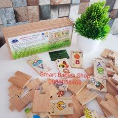 Đồ chơi gỗ Winwintoys – Bộ tìm chữ cái tiếng Việt
