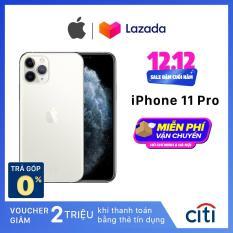 Điện thoại Apple iPhone 11 Pro – Hàng Chính Hãng VN/A – Màn Hình Super Retina XDR 5.8inch, Face ID, Chống nước, Chip A13, 3 Camera, Đi Kèm Sạc Nhanh 18W