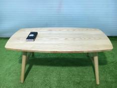 BSF-Bàn chữ nhật gấp gỗ cao su sofa phòng khách
