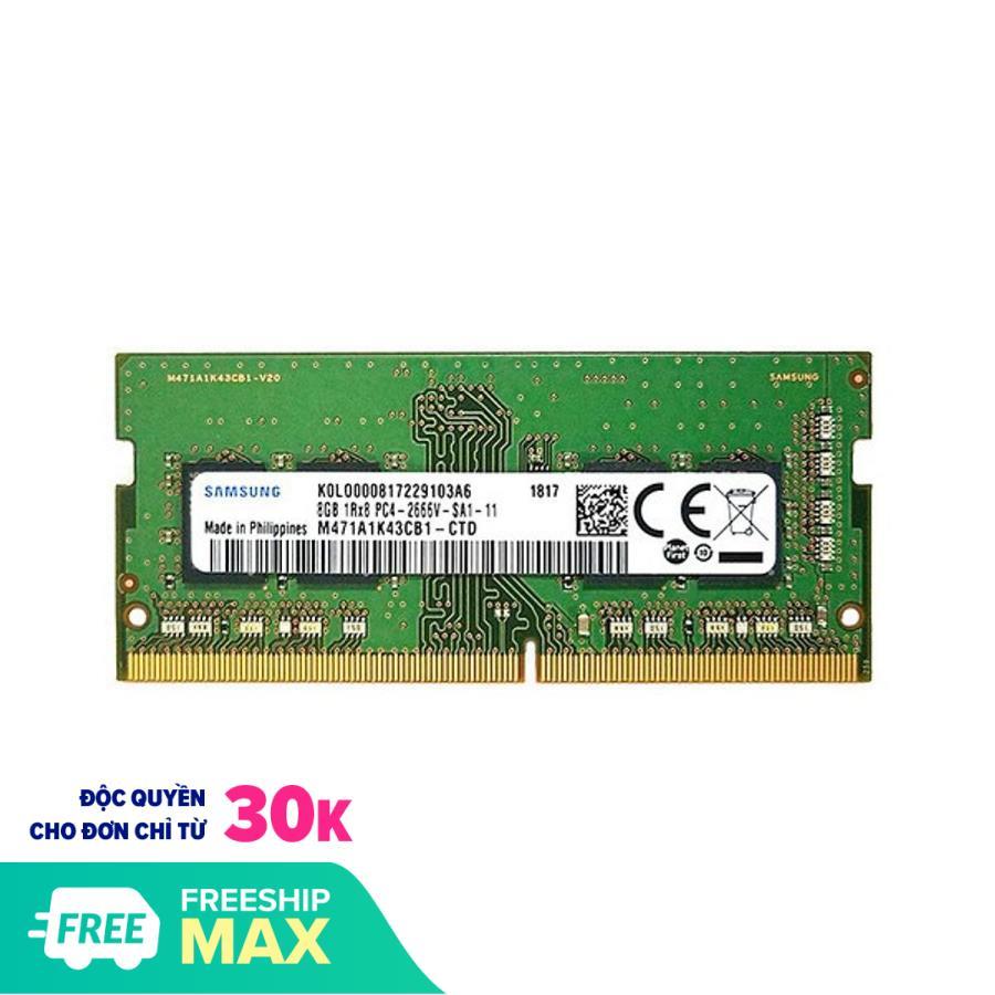 RAM Laptop Samsung 8GB DDR3L bus 1600 - Chính Hãng Samsung - Bảo Hành 3 năm (1 đổi 1)
