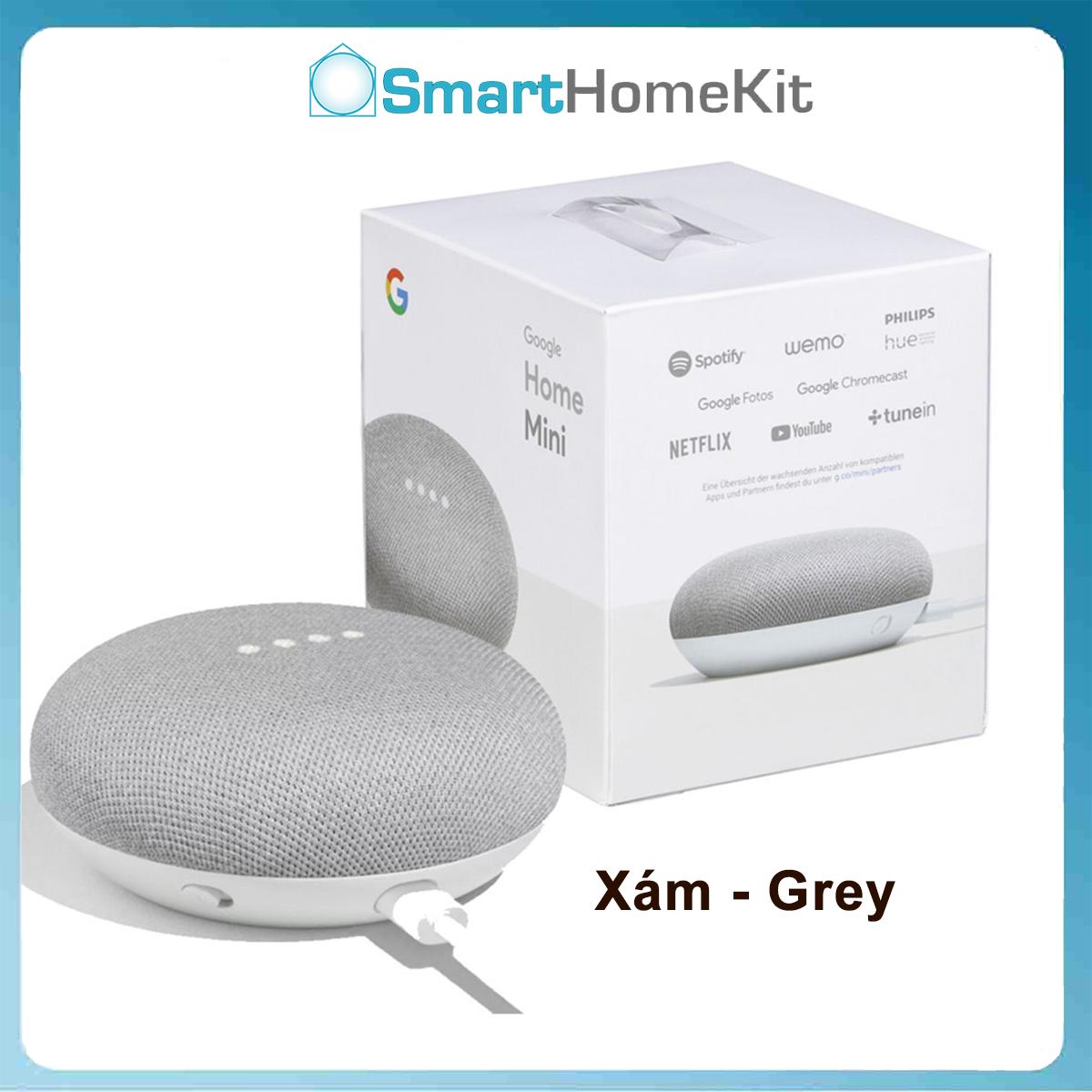 [BH 1 Năm] Loa thông minh Google Home Mini tích hợp trợ lý ảo – full box, nguyên seal