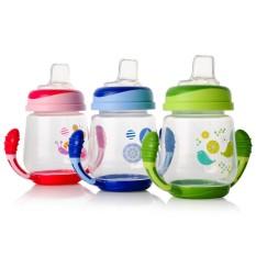 Cốc tập uống cho bé UPASS 180ml có hai tay cầm với đầu hút silicon mềm UP0146N