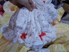 Mũ nón bèo cho bé gái từ 1 đến 12 tháng tuổi vải mềm mịn, thấm hút mồ hôi Laha-Shop
