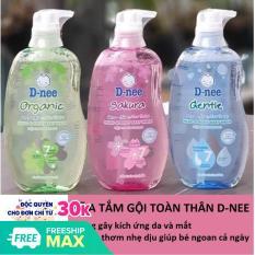Sữa Tắm Gội Toàn Thân Dnee Pure Thái Lan 380ml – Dưới 3 Tuổi