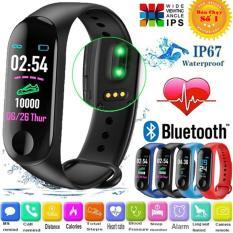 Đồng hồ thông minh smart band M3 đo nhịp tim, bước chân kết nối thông báo với điện thoại – Đồng hồ thông minh smartwatch – Đồng hồ thông minh giá rẻ