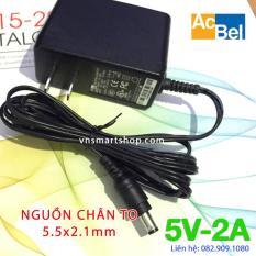Bộ đổi nguồn Acbel adapter 5V 2A chân TO dùng cho TVBOX, máy hút sữa và các loại Đầu thu DVB-T2…hàng công ty chất lượng cao