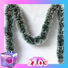 Dây thông dây chồn dài 200cm x 10cm trang trí giáng sinh, trang trí cây thông mùa lễ hội noel (N007)