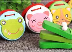 Bộ gõ nhạc đôi hình thú – đồ chơi gỗ – Smart Baby – dochoigo022