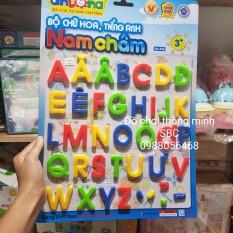 [Lấy mã giảm thêm 30%]Bộ chữ hoa nam châm Tiếng Việt Tiếng Anh Antona