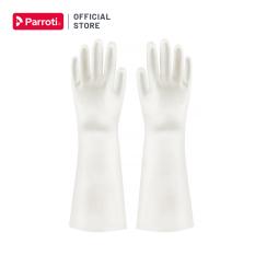 Găng tay cao su siêu dai, bao tay rửa chén, giặt giũ, vệ sinh nhà cửa, an toàn, không mùi hôi – Parroti Active AT01