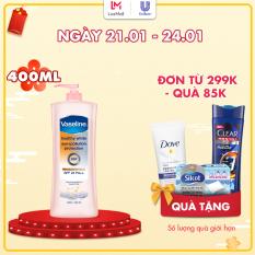 Sữa Dưỡng Thể Vaseline Trắng Da Chống Nắng Và Ô Nhiễm (400ml)