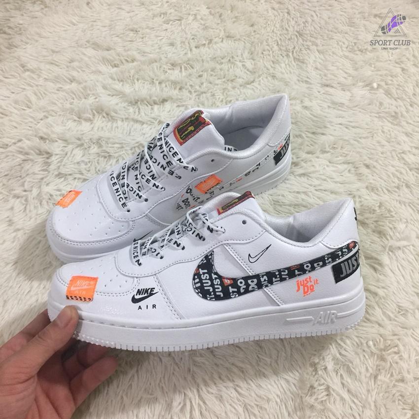 Giày Sneaker nam nữ Air Force JUST DO IT ( rẻ rất thị trường - đầy đủ hộp )