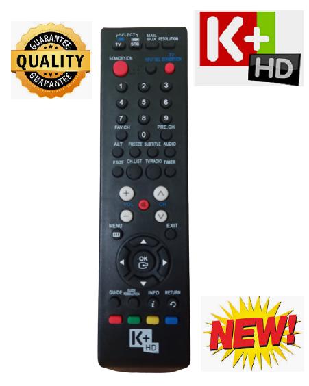 Điều khiển đầu truyền hình K+HD -Hàng chính hãng -Mới 100%