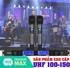 Mic karaoke ko day, 2 micro, Bán micro không dây giá rẻ, Bộ micro không dây EPXCM, Công nghệ không dây cao cấp và giảm tiếng ồn hiệu quả, Bảo hành 12 tháng